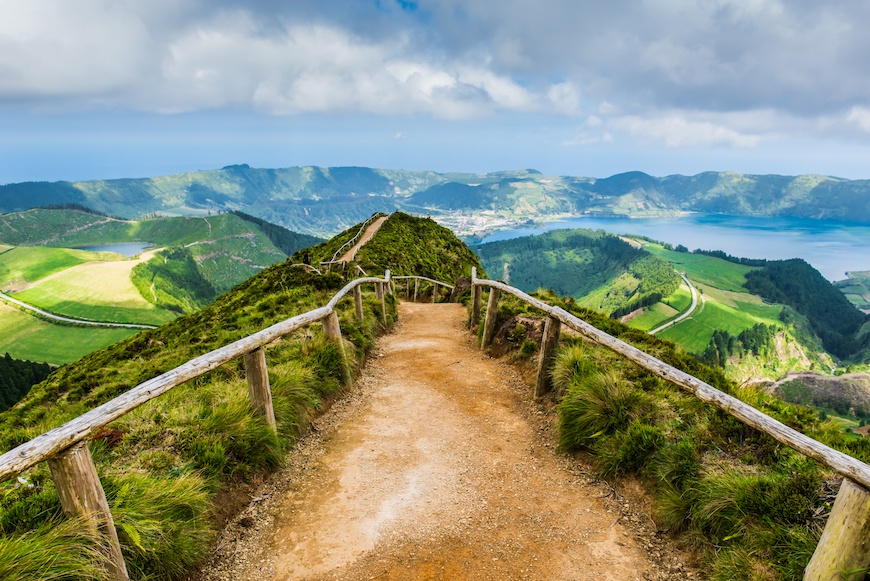Stop and smell the sulfur in Portugal's Azores Islands