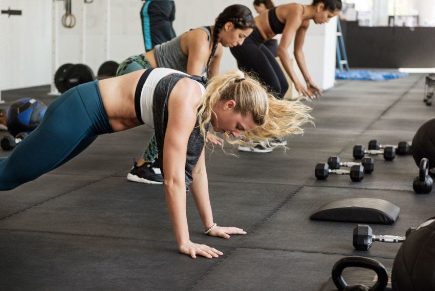 If burpees feel straight-up impossible, start with this move instead
