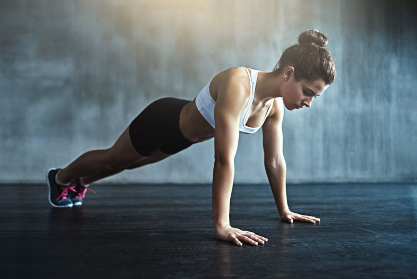 Can't Do a Full Push-up? This *Magic* (No, Really) Hack Will Help