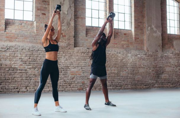 Get into the swing of things with 6 arm-sculpting kettlebell workouts