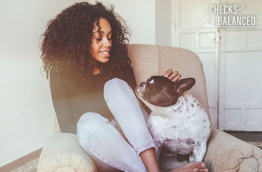 Thumbnail for Checks+Balanced: A 23-year-old making $55,000 prioritizes healthy living for herself—and her dog
