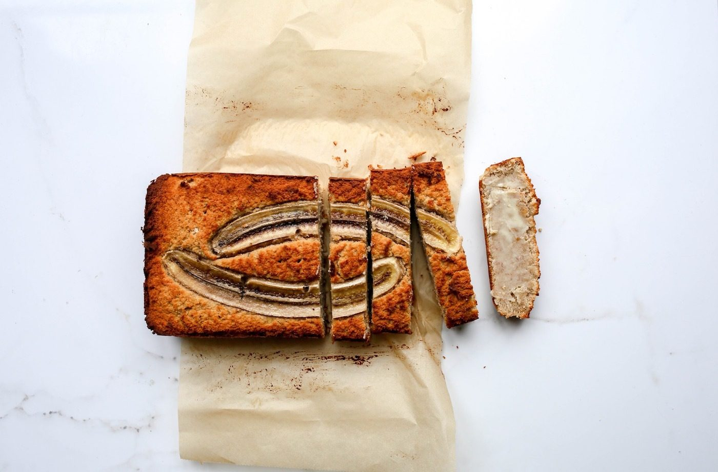 This healthy banana bread won't mess with your blood sugar thanks to two smart tweaks