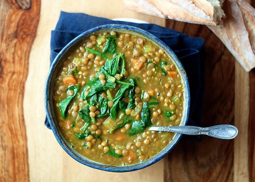 instant pot vegan lentils