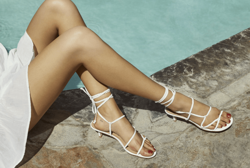 Reformation's first shoe collection makes kitten heels sexy, and I'm not mad about it