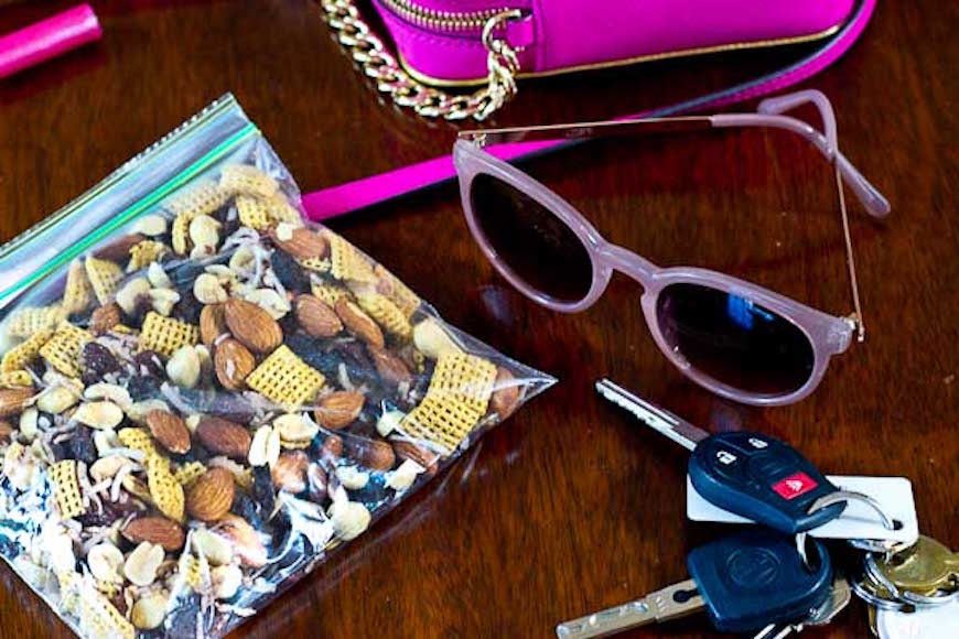 healthy salty trail mix
