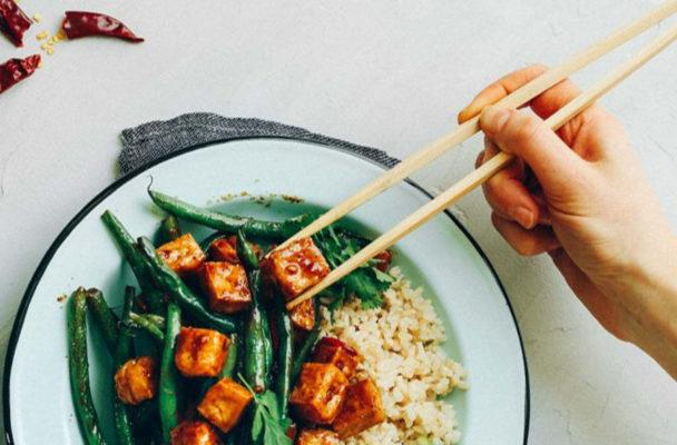 The trick to making perfectly crispy tofu starts in the freezer