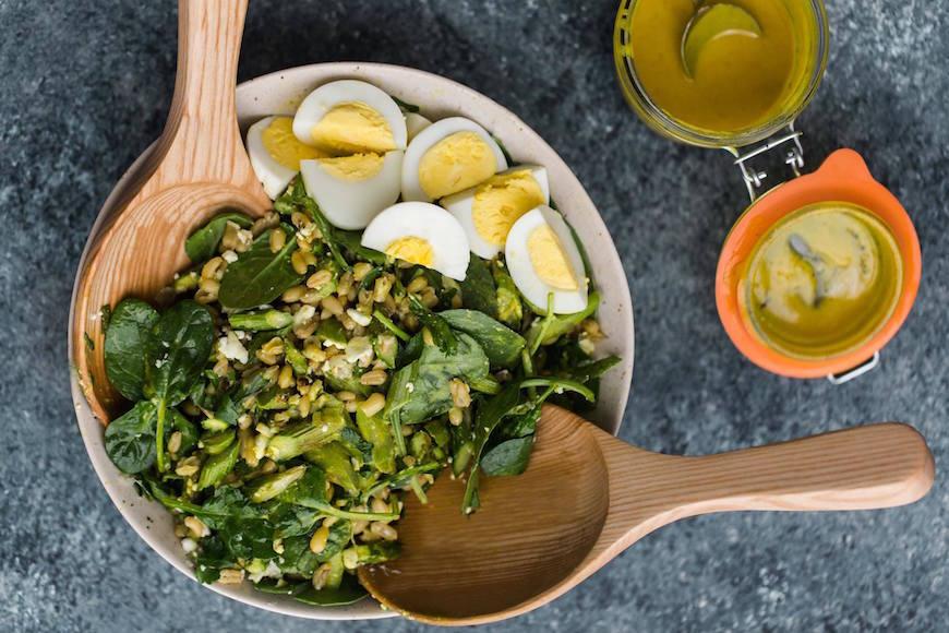 turmeric asparagus salad