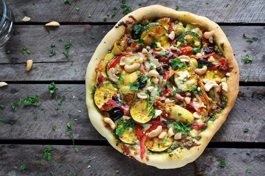 turmeric moroccan pizza
