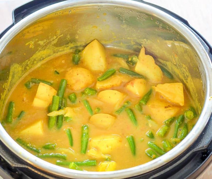 instant pot vegan curry