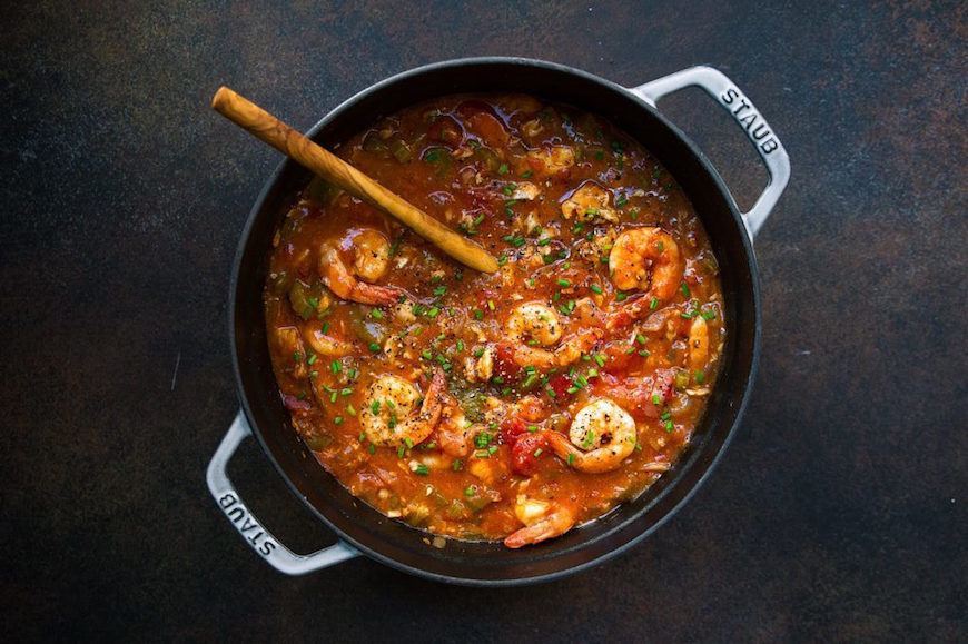 whole30 instant pot seafood gumbo