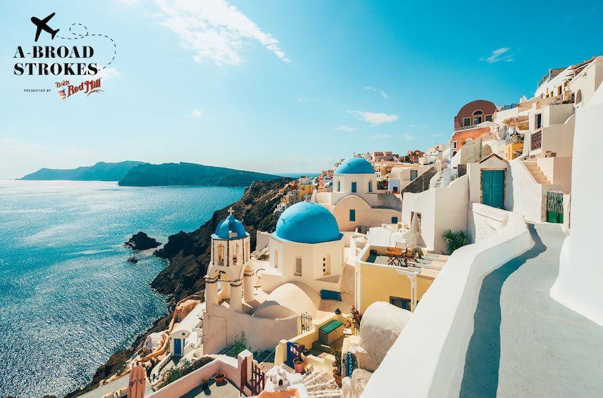 Thumbnail for Why the Most Magical Way to See a Greek Island Is to Run to the Top of It
