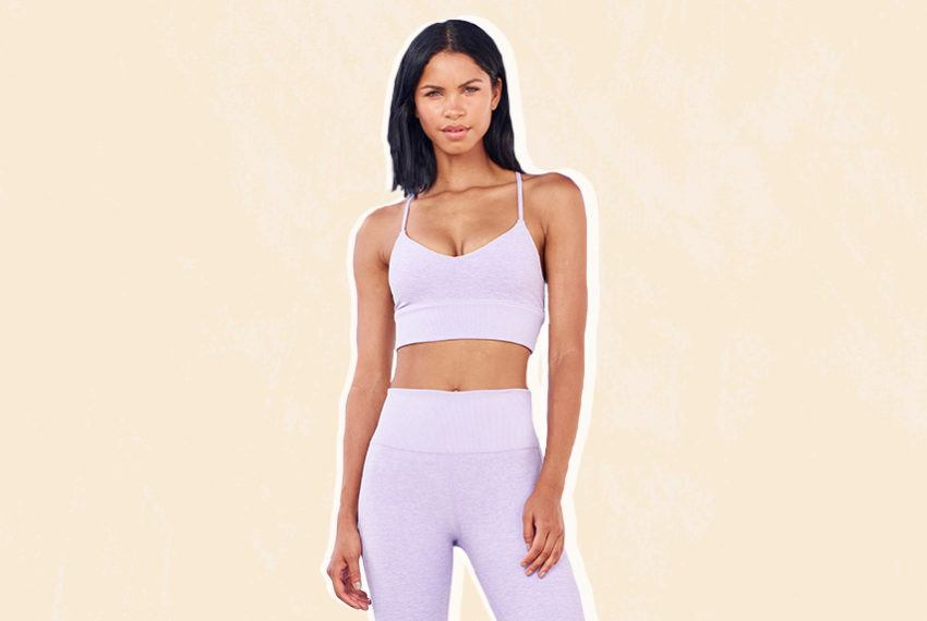 Lavender Is the New Millennial Pink—at Least, When It Comes to Activewear