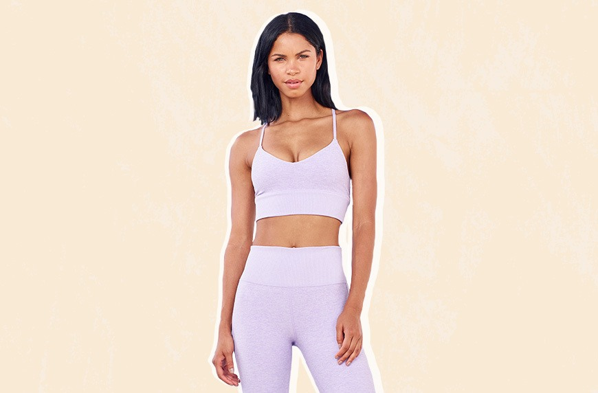 Thumbnail for Lavender is the new millennial pink—at least, when it comes to activewear