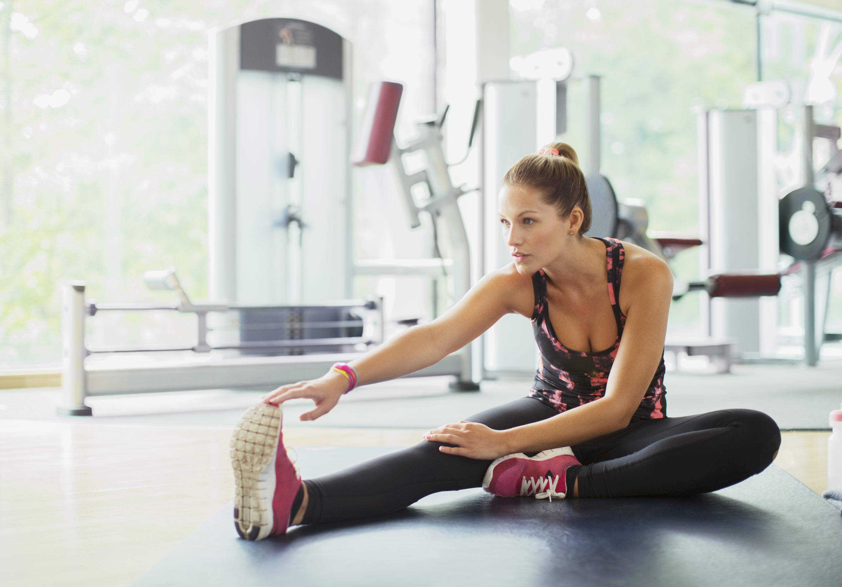 Thumbnail for 4 Do-Anywhere Stretches That Will Help You Recover From Any Workout Faster
