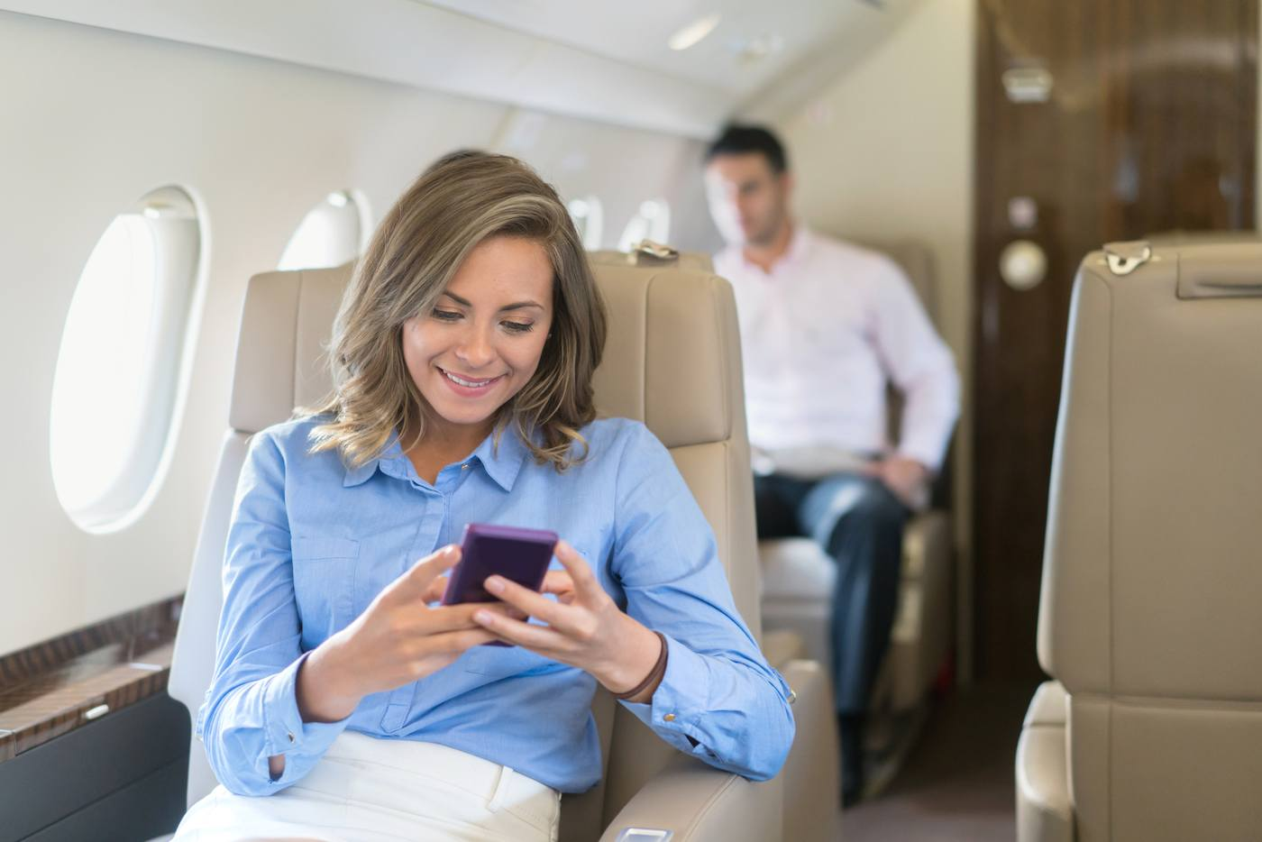 How to score a first class flight upgrade at a fraction of the cost