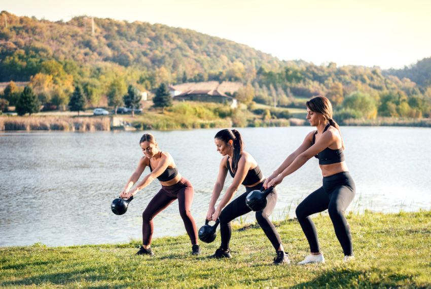 The multitasking workout for days when you have, like, 20 minutes to devote to the gym