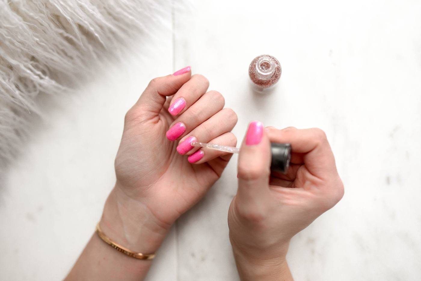 Thumbnail for The Key to a Pro-Level Manicure at Home Is All in the Nail Polish Brush You Use
