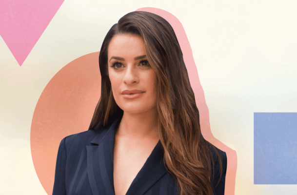 Lea Michele's luminous skin secret is a 30-second facial you can do anywhere