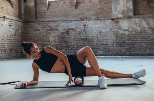 The foam rolling technique an orthopedic surgeon swears by for hip pain