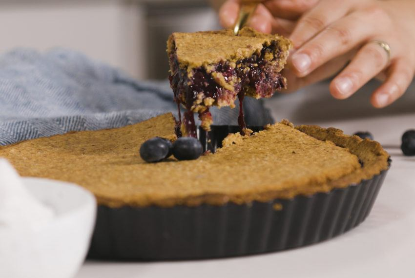 This Healthy Blueberry Pie Is Delicious *and* Will up Your Gut Health