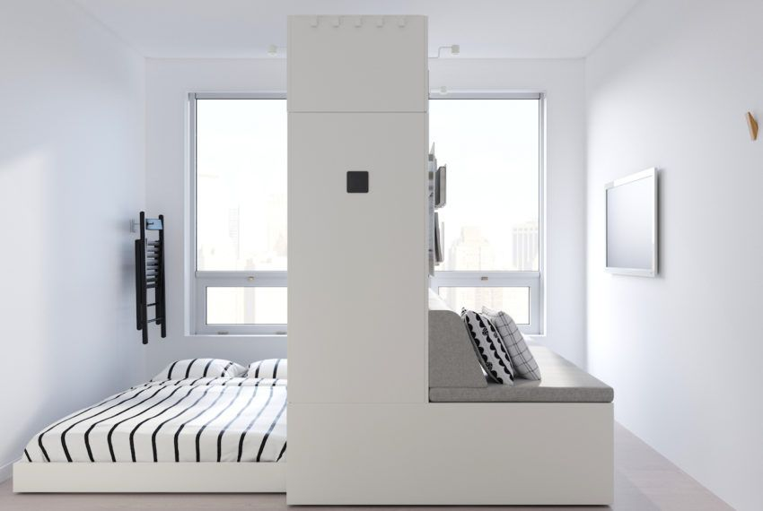 Ikea's robotic 'furniture of the future' transforms 1 room into 3 for the ultimate minimalist aesthetic