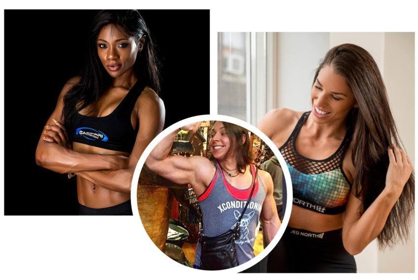 Female bodybuilders share how strength makes them feel feminine
