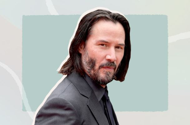 Please, let's all take a moment to swoon over Keanu Reeves' beauty routine