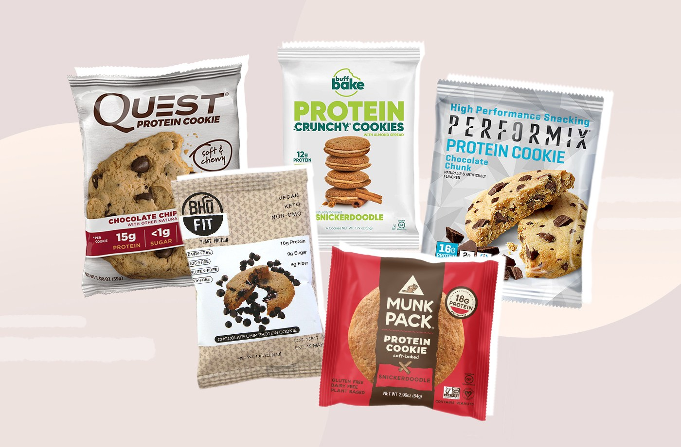 Thumbnail for A Dietitian's Definitive Ranking of the 10 Most Popular Protein Cookies