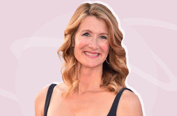 Laura Dern's secret to staying radiant all day is about as low maintenance as it gets