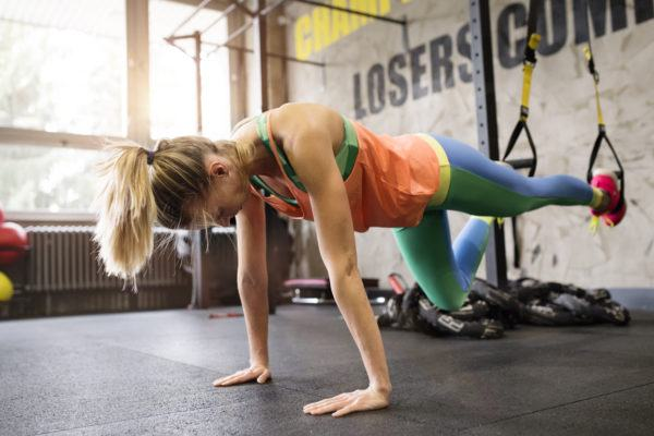 This next-level 'floating' plank variation will work all 360-degrees of your core