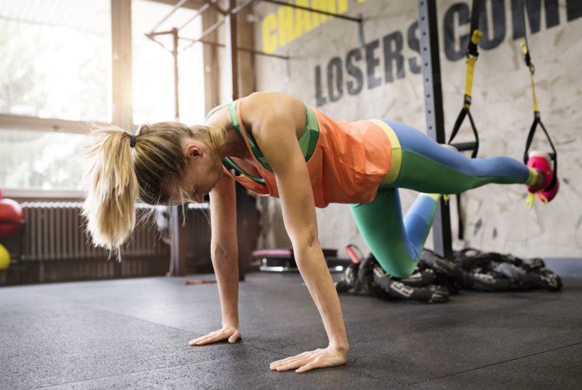 This next-level 'floating' plank variation will work all...