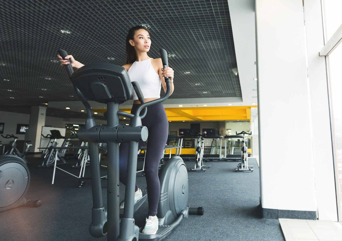Thumbnail for 5 of the Most Common Mistakes Trainers See People Make on the Elliptical