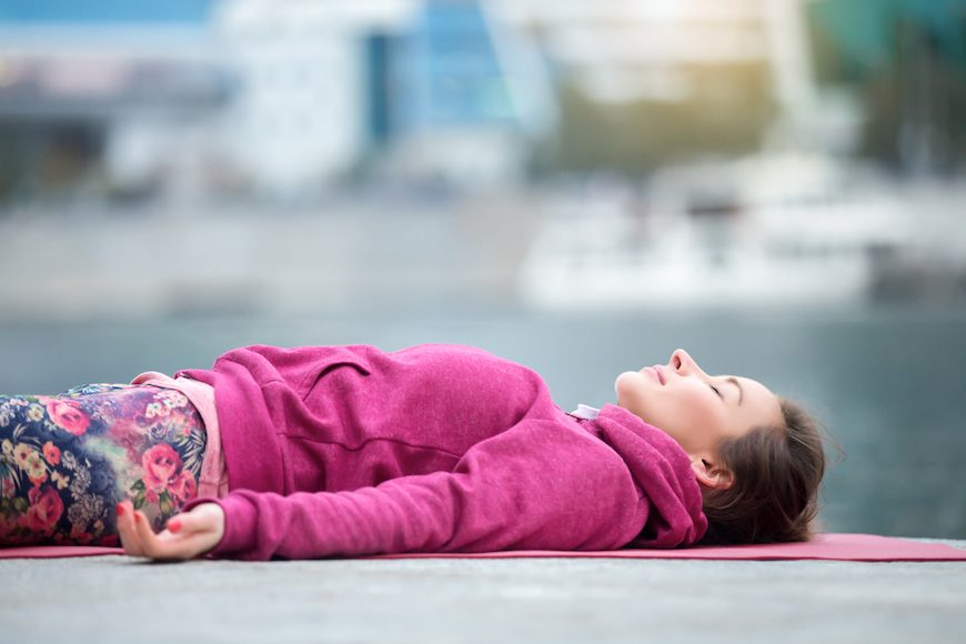 Thumbnail for The Secret to Clocking Hours Worth of Sleep in Minutes? A Yoga Nidra Session