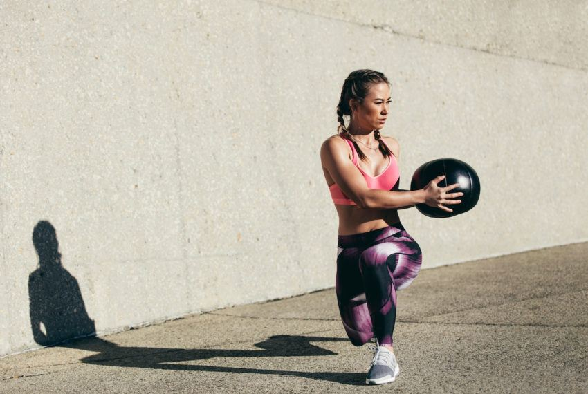 This 10-move medicine ball workout proves one tool can torch your total...