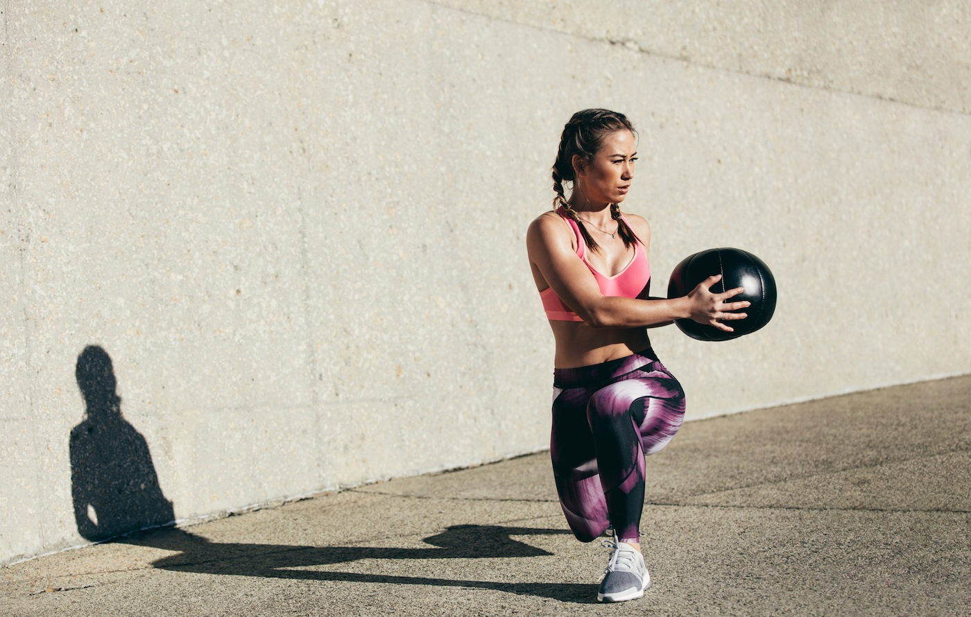 Thumbnail for This 10-move medicine ball workout proves one tool can torch your total body