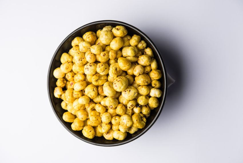 Are protein-rich popped lotus seeds the new popcorn?