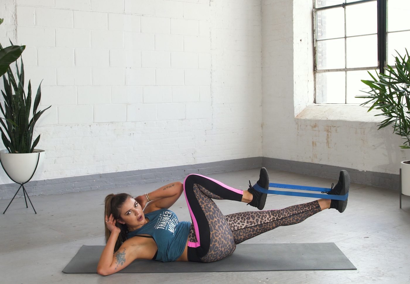 I thought my abs routine was tough until I tried this 6-move resistance band workout