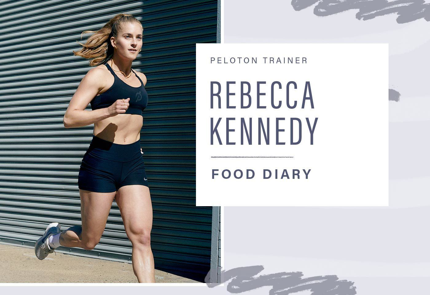 Thumbnail for Peloton trainer Rebecca Kennedy shares what a week of eating intuitively looks like for her