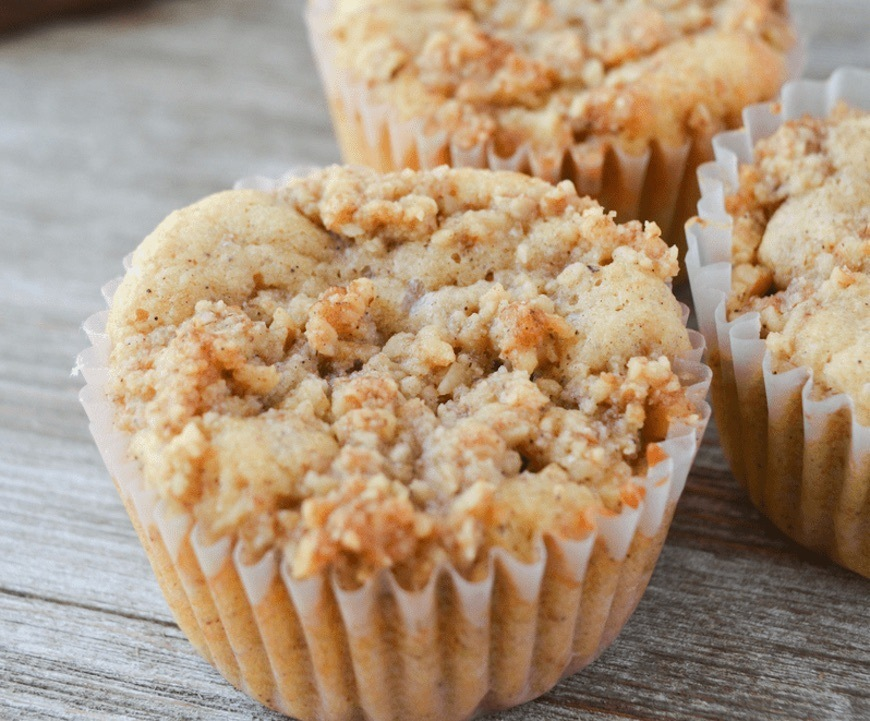 banana nut keto muffins