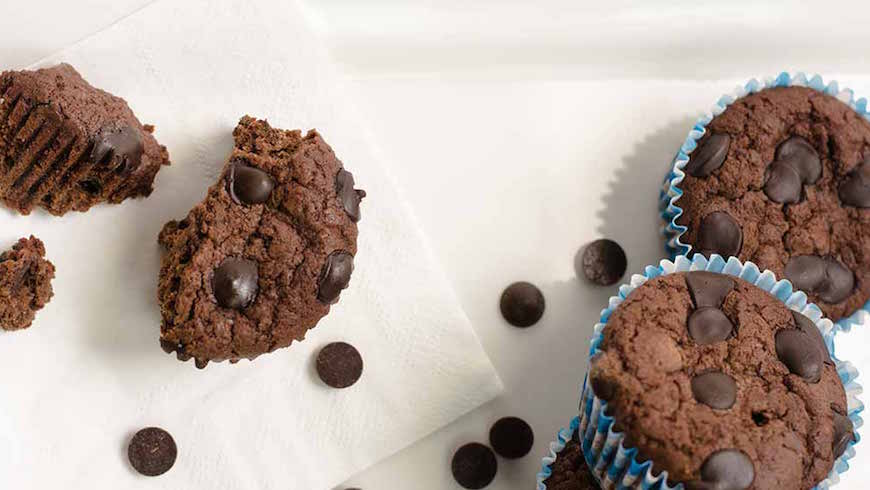 chocolate keto muffins