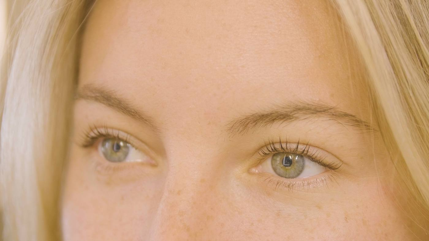 Watch what a lash lift process is *really* like | Well+Good