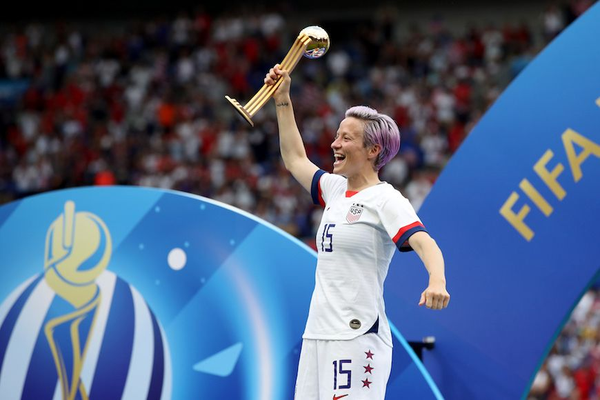 Thumbnail for Megan Rapinoe Shares Her Winning Food Philosophy That Keeps Her Energy up on and Off the Field