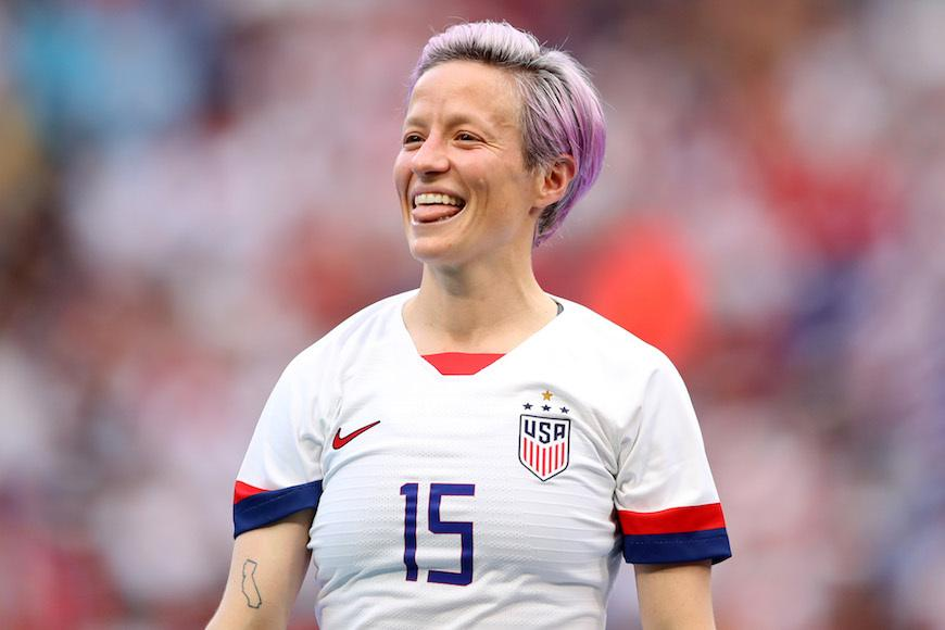 How Megan Rapinoe keeps a winning mentality when haters gonna hate