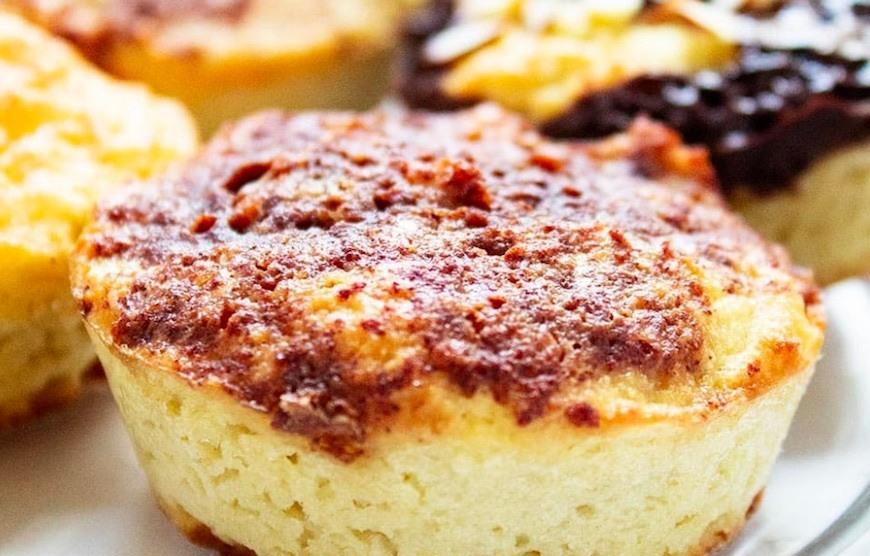 keto pancake muffins