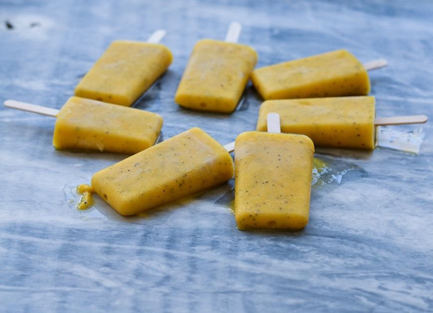 smoothie ice pops