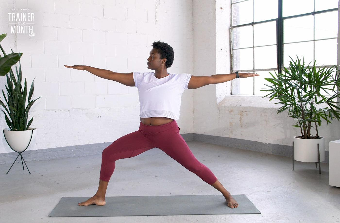 This 7-minute beginner yoga flow will let you ease into your practice