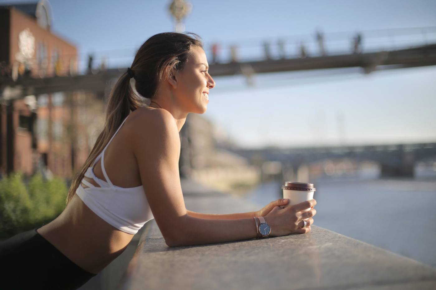 Everyone at my gym is sipping coffee mid-workout, and nutritionists told me why