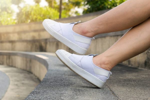Later, laces: These slip-on sneakers are a lazy girl's best friend