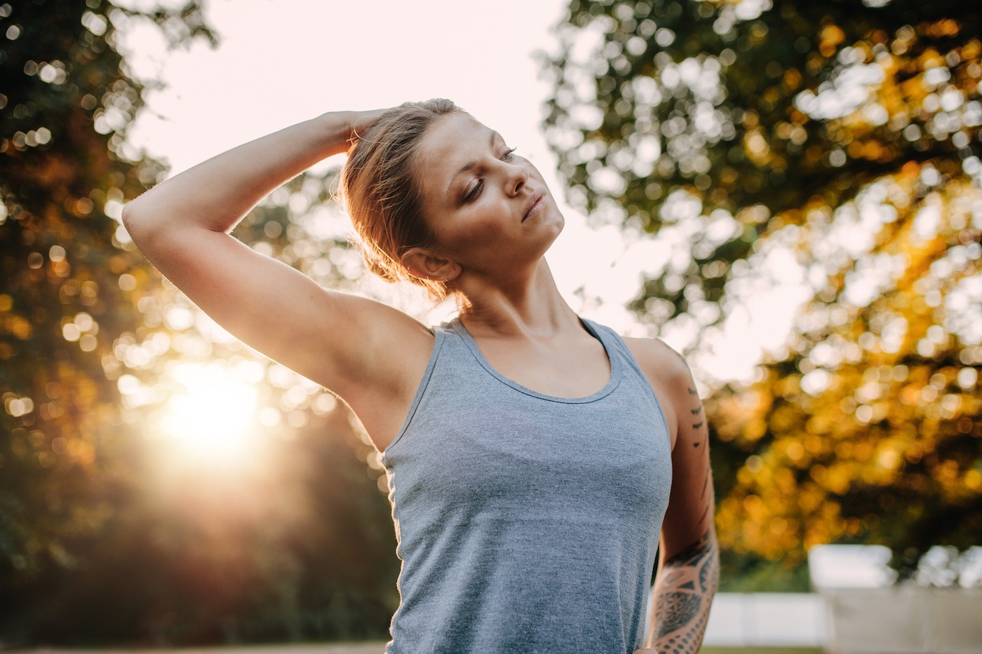 Thumbnail for Woke up with a stiff neck? These 4 pro-approved stretches should help loosen it up