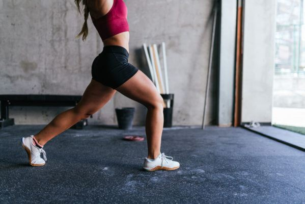 Throw your hands way, way up for an instant cardio boost while you're strength training